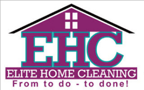 elite home cleaning logo